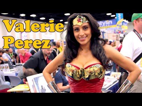 Valerie Perez (Wonder Woman) Interview: Comic-Con 2014