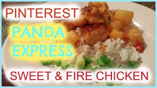 Sweet and Fire Chicken