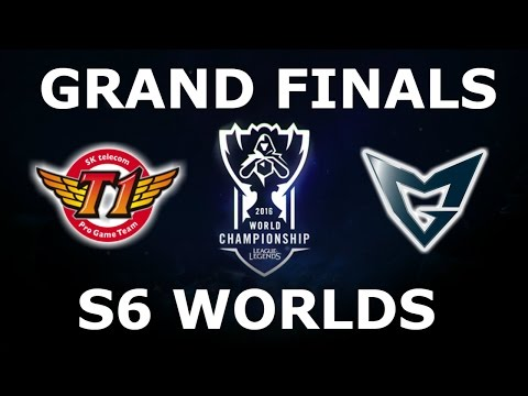 SKT vs SSG - Finals Full Series S6 LoL eSports World Champio