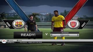 FIFA 12 PC Demo Gameplay | Match :- Barcelona Vs Arsenal | Full Gameplay HD