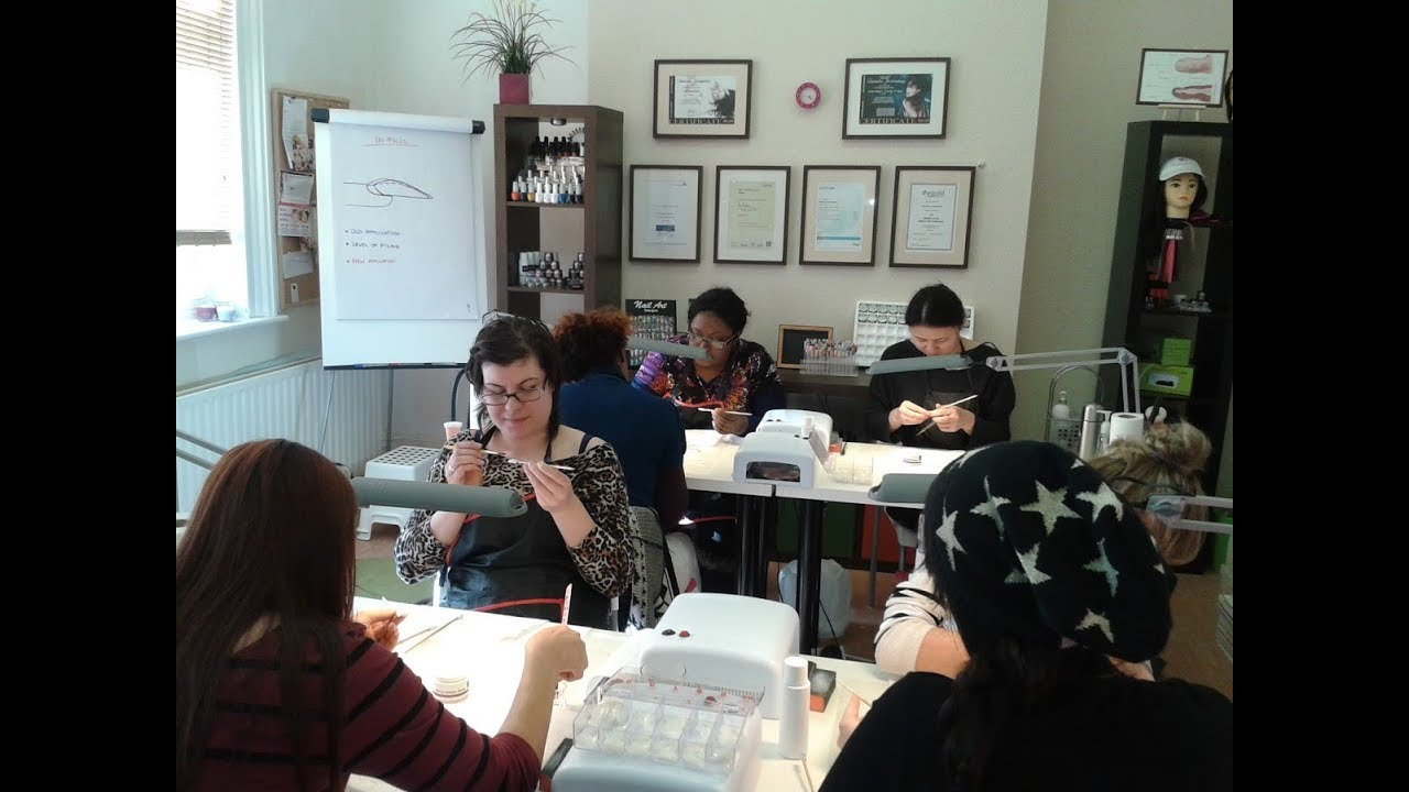 Nail Technician Courses -Gel,Acrylic,Nail Art,Manicure - YouTube