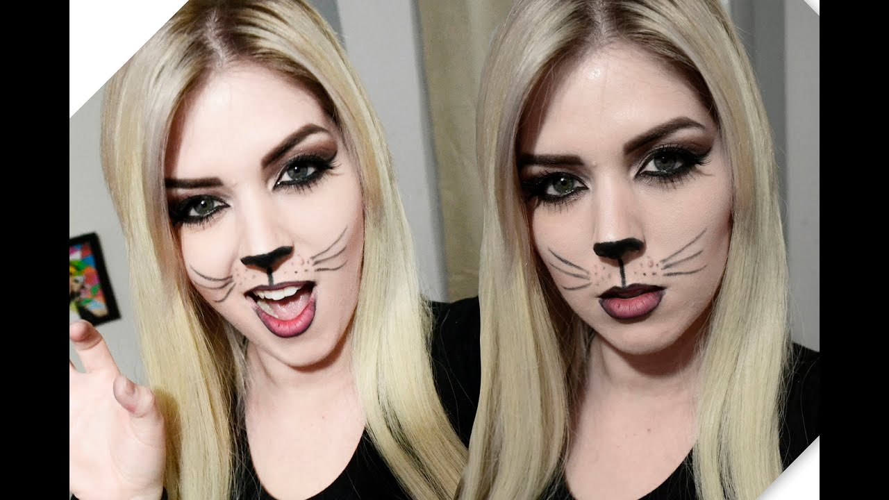 Halloween Cat Makeup Youtube