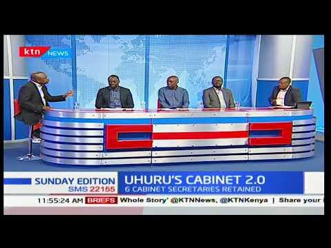 President Uhuru Kenyatta's cabinet- Sunday Edition