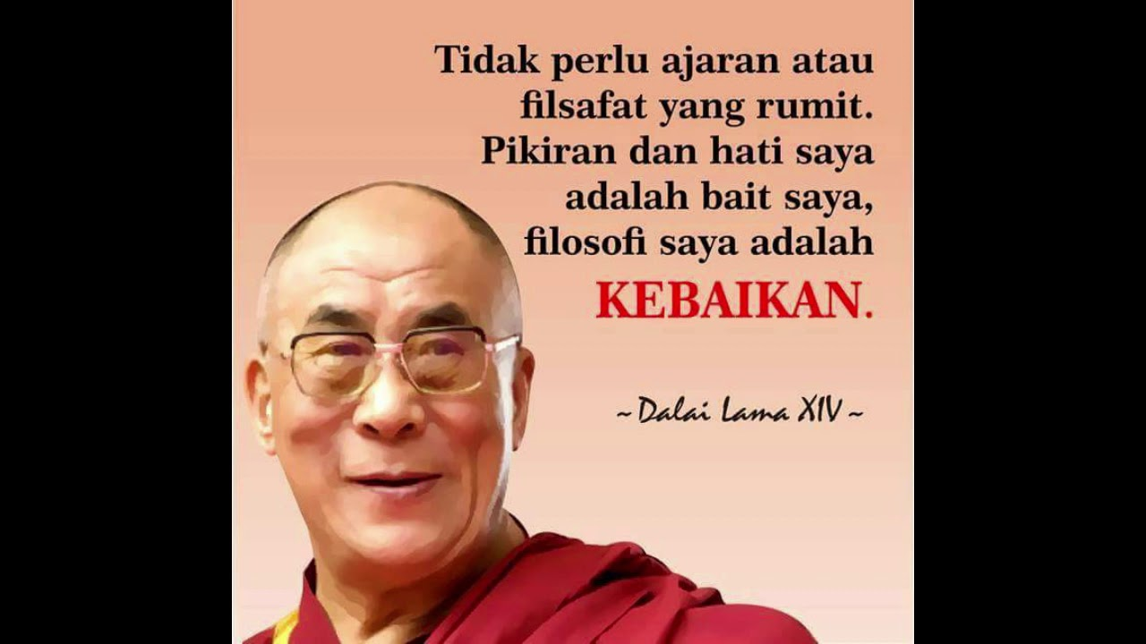Kumpulan Kata Kata Bijak Dalai Lama Yang Sangat Menginspirasi Video Motivasi Youtube