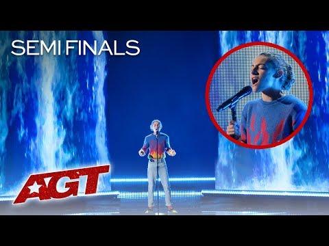 "14-Year-Old Benicio Bryant Sings INCREDIBLE Original Song, ""Fall Apart"" - America's Got Talent 2019"