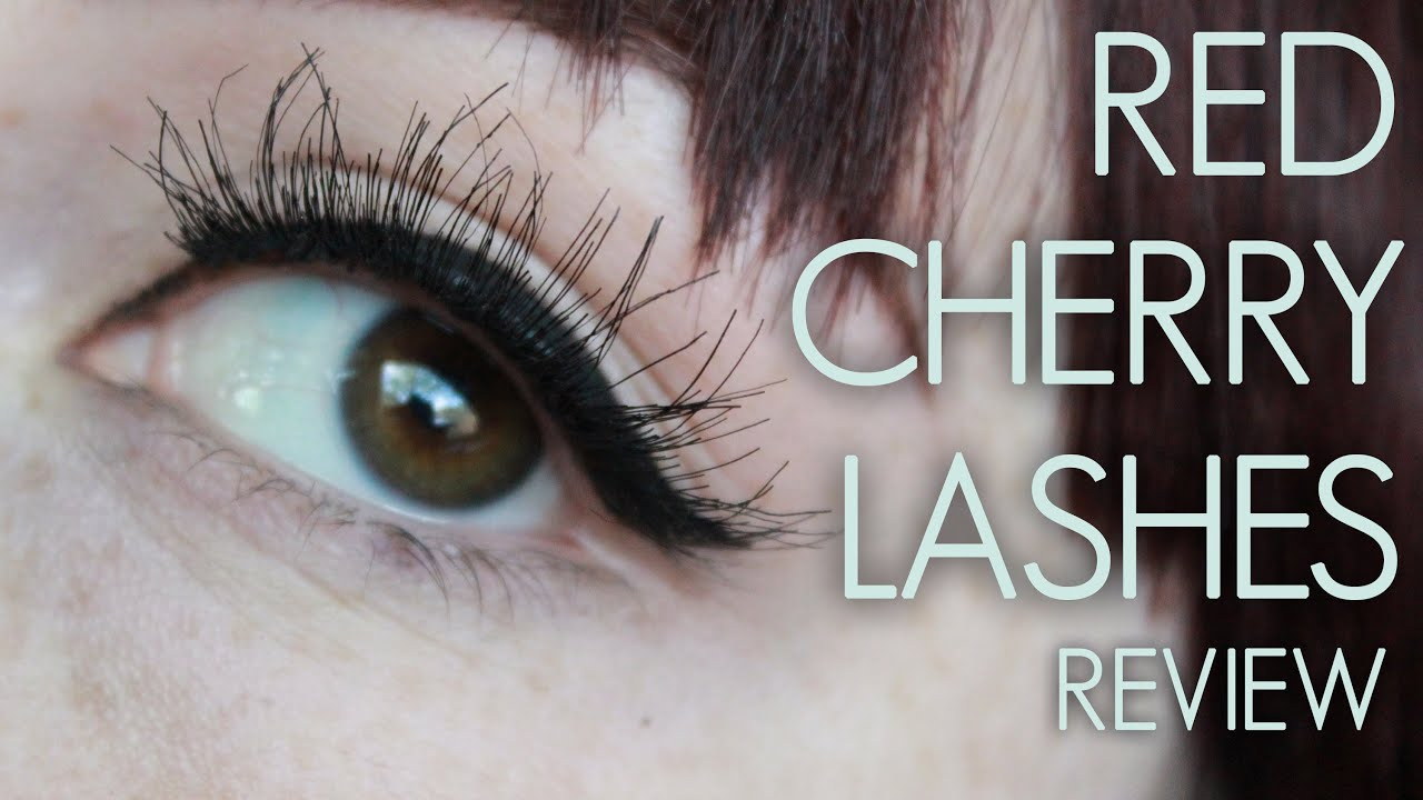Red Cherry Lashes Dw Wsp 43 16 62 102 Youtube