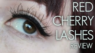 Red Cherry Lashes #DW, #WSP, #43, #16, #62, & #102