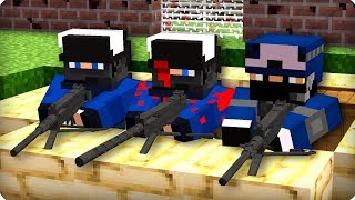 Последние выжившие солдаты? [ЧАСТЬ 61] Зомби апокалипсис в майнкрафт! - (Minecraft - Сериал)