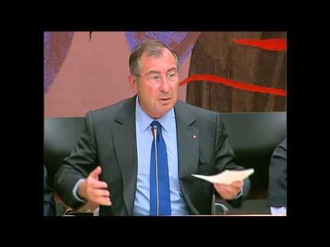 M. Martin Bouygues, pdg de Bouygues à Assemblée Nationale, le 1er juillet 2014