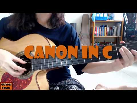 CANON IN C (EASY) | GUITAR SOLO (KÈM TAB)