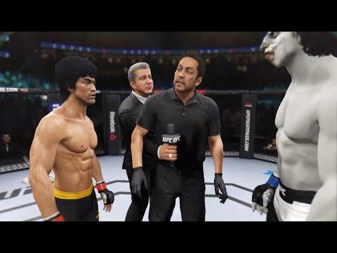 Bruce Lee Vs. Graveyard Ghoul (EA Sports UFC 2) - Epic Battle 💯 🐲