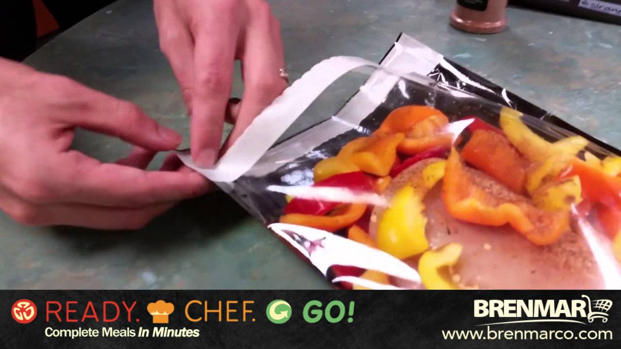 Microwave And Oven Safe Grilling Cooking Bags Ready Chef Go You