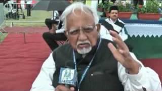 DM Digital UK Interviewed Janab Mujibur Rahman  Advocate Pak Supreme Court at Jalsa Salana-2010