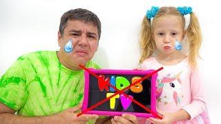 Stacy y papá, qué pasa si los YouTube Kids no lo serán