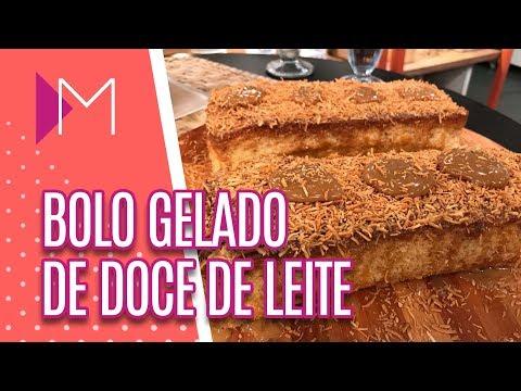 Bolo gelado de Doce de Leite  - Mulheres (20/07/2018)