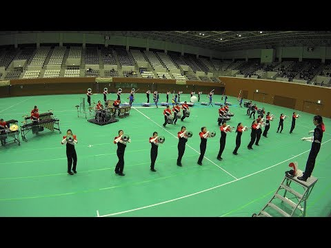 Winter Marching Party in KYOTO 2017 Legend of ANGELS Drum & Bugle Corps