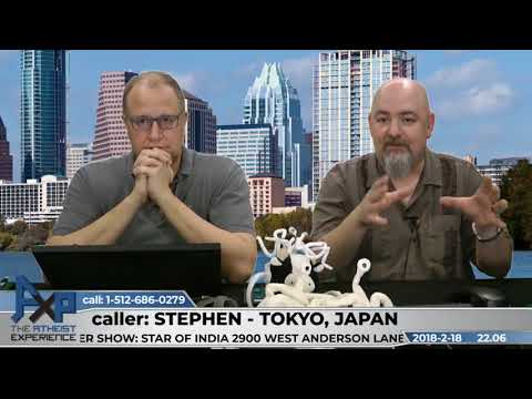 Why Don't Atheist Believe in God? | Stephen - Tokyo, Japan | Atheist Experience 22.06