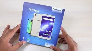 Panasonic P55 Max Unboxing, Hands on, Camera, Features