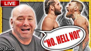 🔴 DANA WHITE SAYS CONOR MCGREGOR IS TOO SMALL FOR JORGE MASVIDAL + MMA NEWS!