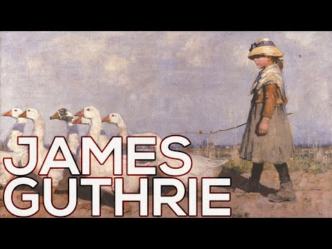 James Guthrie: A collection of 99 paintings (HD)