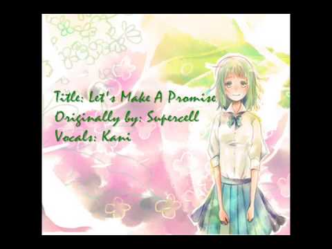 ∖(⊙⋏⊙ ✿) Let's Make A Promise 歌ってみた