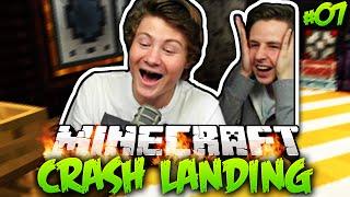 ALLES IST BESSER ALS REWI ZU SEIN! | Minecraft Crash Landing #7 mit Dner & Rewi