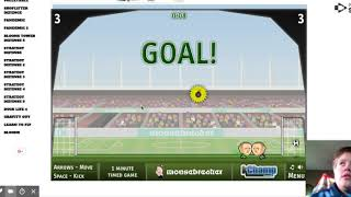 Sports Heads: Soccer - Unblocked Games Arcade