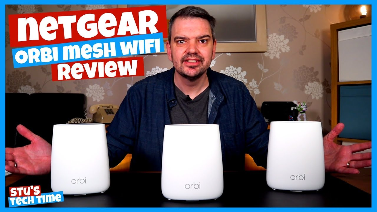 This will solve all of your WIFI Problems? Netgear Orbi Mesh Wifi Review