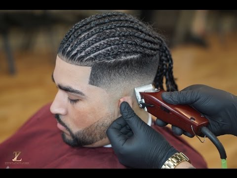 Braided Haircut Tutorial | With Oster fast feed | Beard line