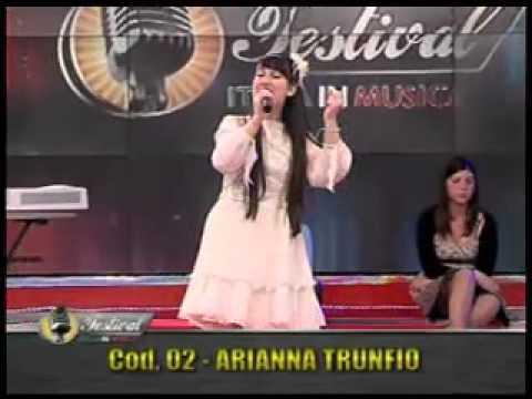 Arianna Trunfio 'minuetto' al New Talent del Fest. It. in Musica, puntata n. 29