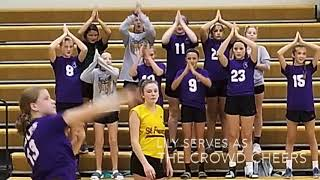 Morning Announcements with volleyball highlights Tuesday September 11, 2018