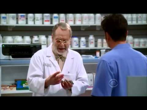Two and a half men - Russell the best pharmacist in the world