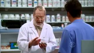 Two and a half men - Russell the best pharmacist in the world thumbnail