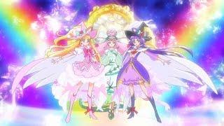 Mahou Tsukai Precure Extreme Rainbow Team Attack