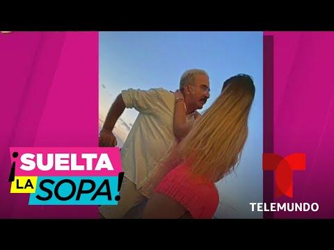 Novia de Vicente Fernández Jr. exhibe su amor y cuerpazo, ¿al natural? | Suelta La Sopa