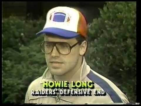 NFL - 1985 AFC Divisional Playoff - New England Patriots VS Los Angeles Raiders  imasportsphile.com