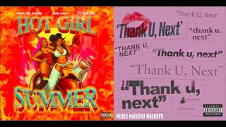 """Thank U Hot Girl Summer"" [Mashup] - Megan Thee Stallion, Ariana Grande, Nicki Minaj & Ty Dolla Sign"