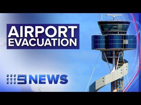 Sydney Airport's Air Traffic Control Tower Evacuated | Nine News Australia