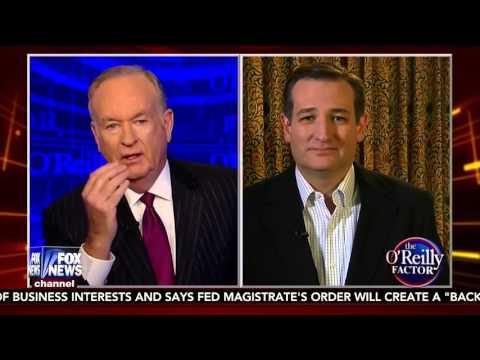 Ted Cruz on the O