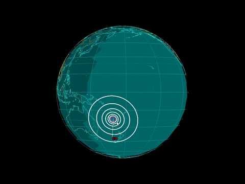 EQ3D ALERT: 11/1/17 - 6.0 magnitude earthquake in the South Pacific Ocean