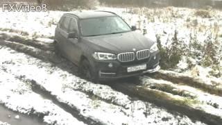 BMW X5 OFF ROAD (чуть не застрял)