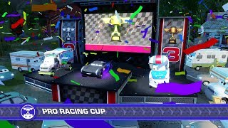 Cars 3: Driven to Win (PS4) Gameplay - Pro Racing Cup Event (Playing as Jackson Storm)