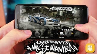 ЖЕЕСТЬ!!! NFS MOST WANTED 2005 НА АНДРОИД !!!