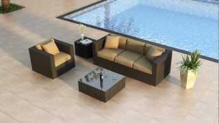 3 Piece Urbana Outdoor Sofa Set By Harmonia Living