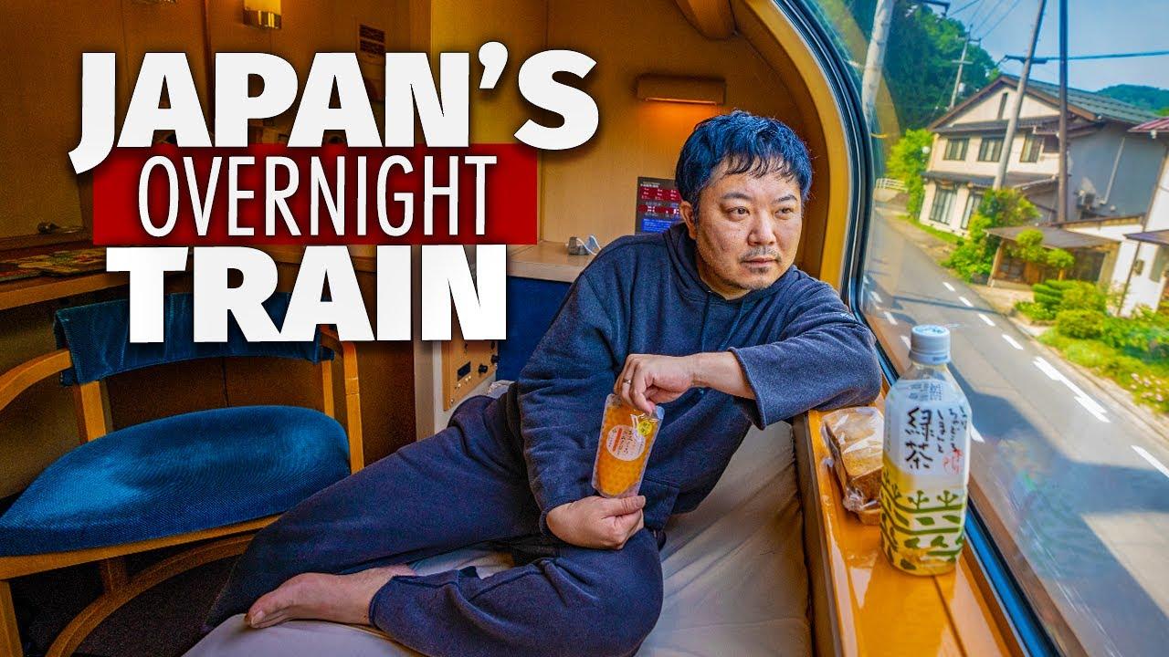 Inside Japan's SLEEPER Train | $160 FIRST CLASS Room
