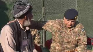 COAS meeting Mr Muhammad Ali Khan; the proud father of three Shaheeds