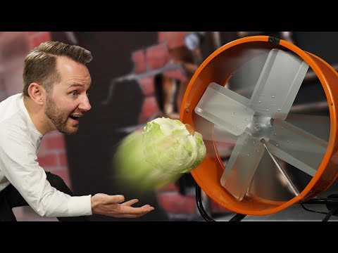 Throwing Things Into A Fan!