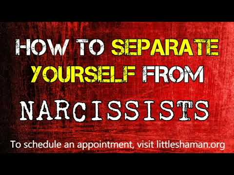 how to separate from a narcissist