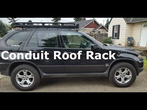 DIY Safari Style Roof Rack
