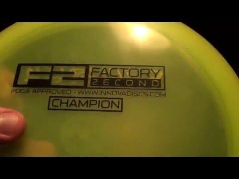 Innova Champion Mamba Disc Golf Disc Review:  Disc Golf Nerd